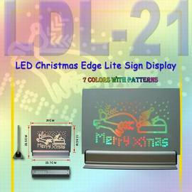 LED Edge Lite Sign Display (Edge Lite светодиодные табло)
